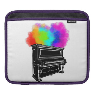 Piano Explosion Of Color iPad Sleeve