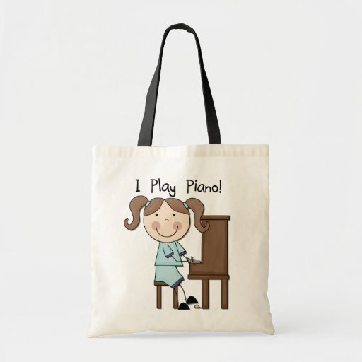 Piano - Female Tshirts and Gifts Canvas Bag