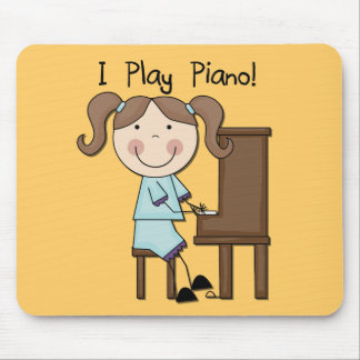 Piano - Female Tshirts and Gifts Mouse Pad