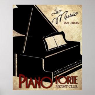 Piano Forte Print