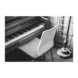 Piano Gallery Wrapped Canvas