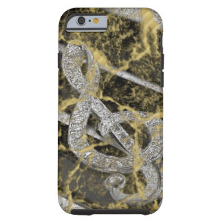 Piano Gclef Tough iPhone 6 Case