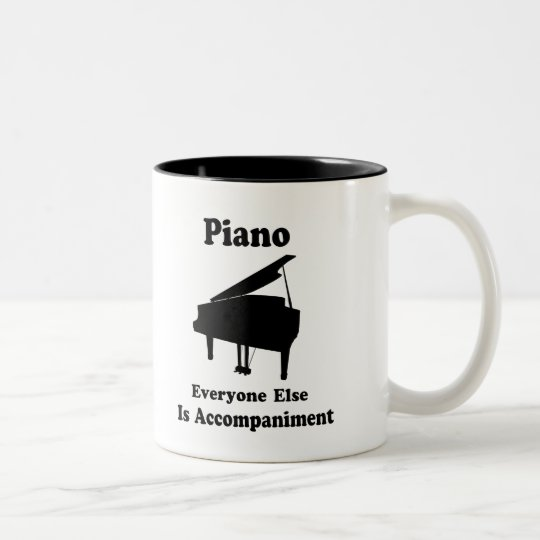 Piano Gift Two-Tone Coffee Mug