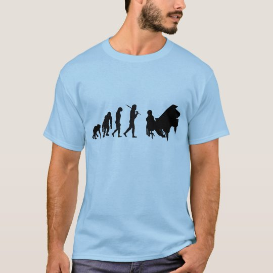 Piano gifts Pianists Bach Mozart Beethoven Music T-Shirt