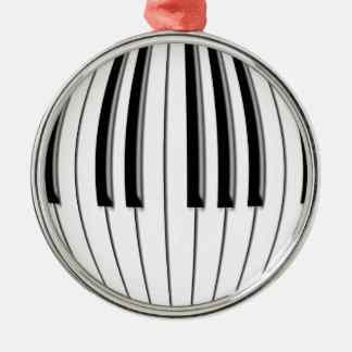 Piano Globe Christmas Ornament