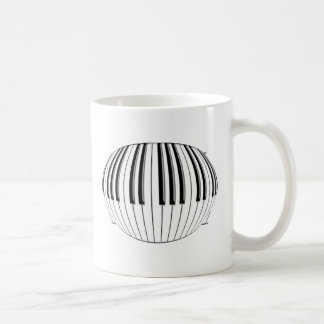 Piano Globe Coffee Mug