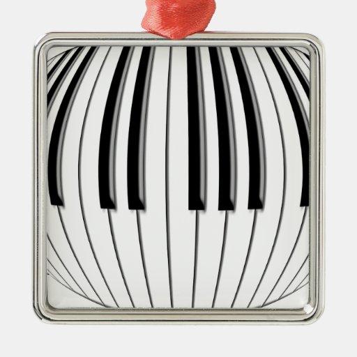 Piano Globe Ornaments