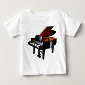 piano gloss black baby T-Shirt