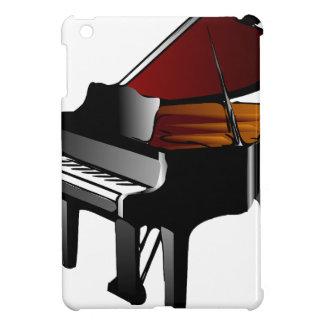 piano gloss black iPad mini case