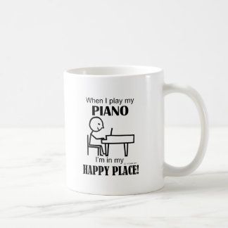 Piano Happy Place Coffee Mug