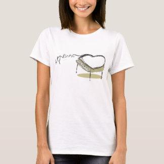 Piano Heart T-Shirt