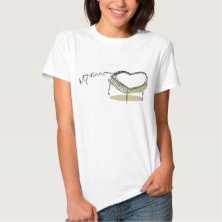 Piano Heart Tee Shirt