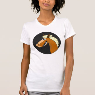 Piano Horse  Womens Shirt