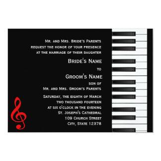 Piano Invitation