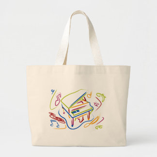 PIANO JUMBO TOTE BAG