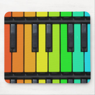 Piano key mouse pad