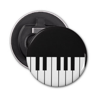 Piano Keyboard Bottle Opener Fridge Magnet
