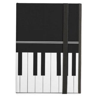 Piano keyboard case for iPad air