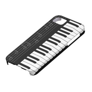 Piano keyboard case for the iPhone 5