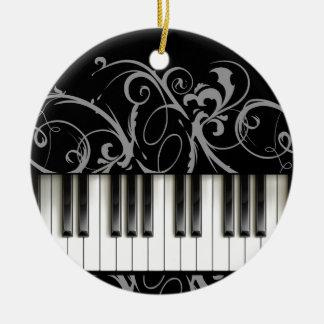 Piano Keyboard Christmas Ornament