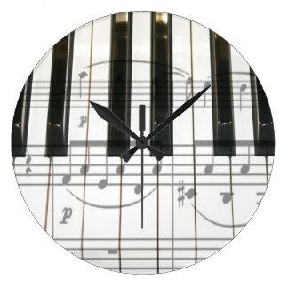 Piano Keyboard Clock