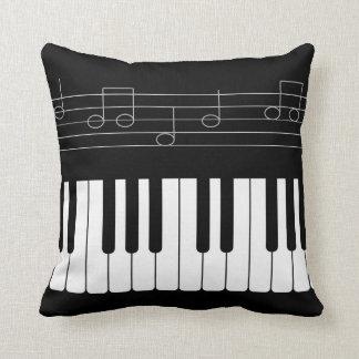 Piano keyboard cushion