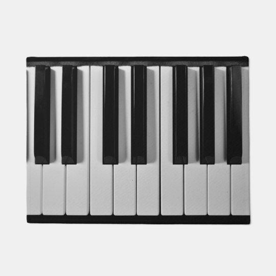 Piano Keyboard Custom Door Mat