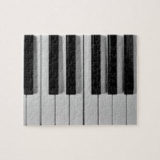 Piano Keyboard Custom Jigsaw Puzzle