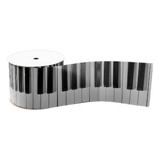 Piano Keyboard Custom Ribbon Grosgrain Ribbon
