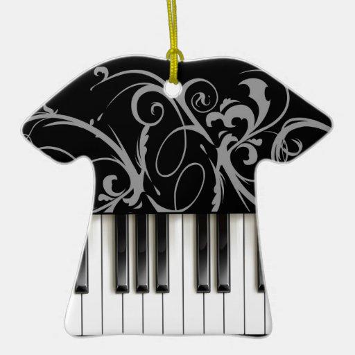 Piano Keyboard Ornaments