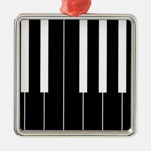 Piano Keyboard Christmas Tree Ornaments