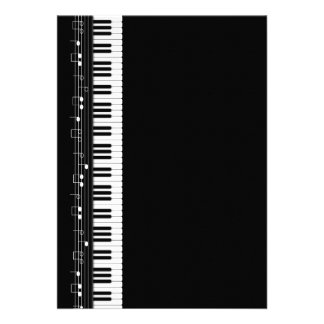 Piano keyboard announcement