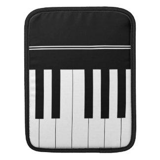 Piano keyboard iPad sleeve