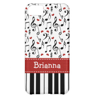 Piano Keyboard iPhone 5C Case