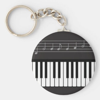 Piano Keyboard Key Ring