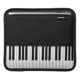 Piano Keyboard Keys iPad Sleeve