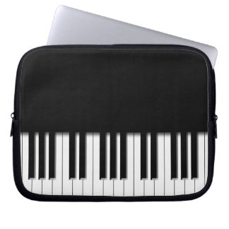 Piano Keyboard Keys Laptop Computer Sleeve