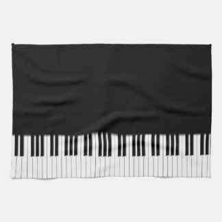 Piano Keyboard Keys Tea Towel