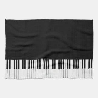 Piano Keyboard Keys Tea Towel