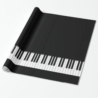 Piano Keyboard Keys Wrapping Paper