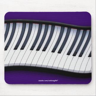 PIANO KEYBOARD MUSIC Theme Mousepad