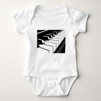 Piano Keyboard no2 Baby Bodysuit
