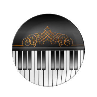 Piano Keyboard Plate