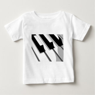 Piano Keyboard Pop Art Baby T-Shirt