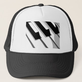 Piano Keyboard Pop Art Trucker Hat