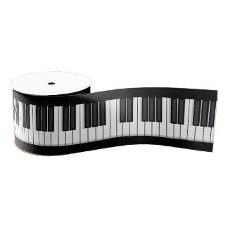Piano Keyboard Ribbon Grosgrain Ribbon