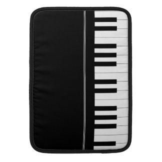Piano keyboard sleeve for MacBook air