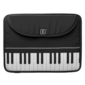 Piano keyboard sleeve for MacBooks