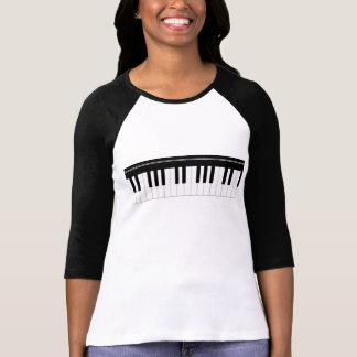 Piano keyboard tees