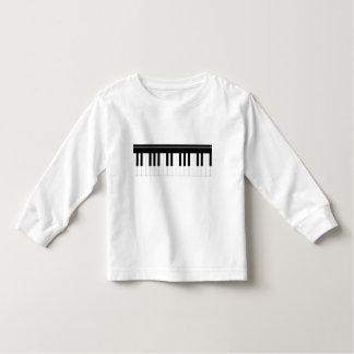 Piano keyboard toddler T-Shirt
